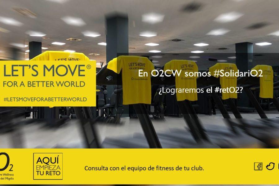 Cinco clubes deportivos premium de la cadena O2 Centro Wellness participan en el Reto Let´s Move