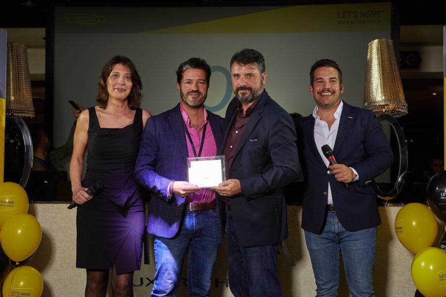 O2 Centro Wellness recauda 10.000 euros en material Technogym